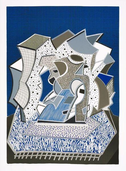 David Hockney, 'Deux (Second Part) Signed  ', 1991