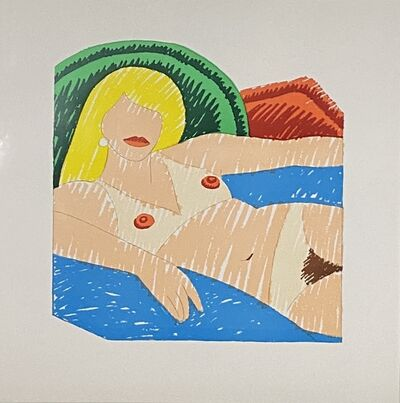 Tom Wesselmann, 'Shiny Nude', 1977