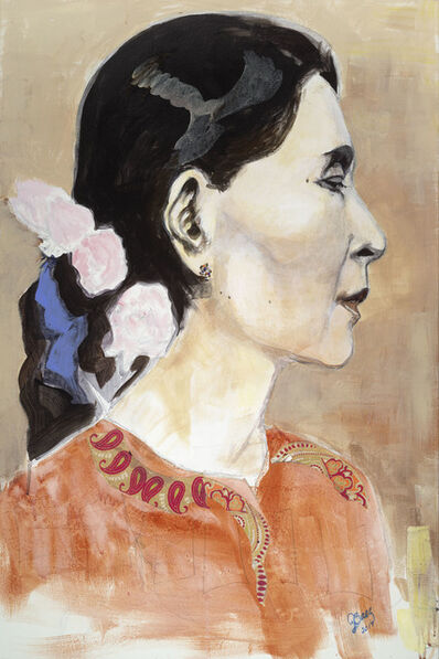 Joan Baez, 'Aung San Suu Kyi', 2017