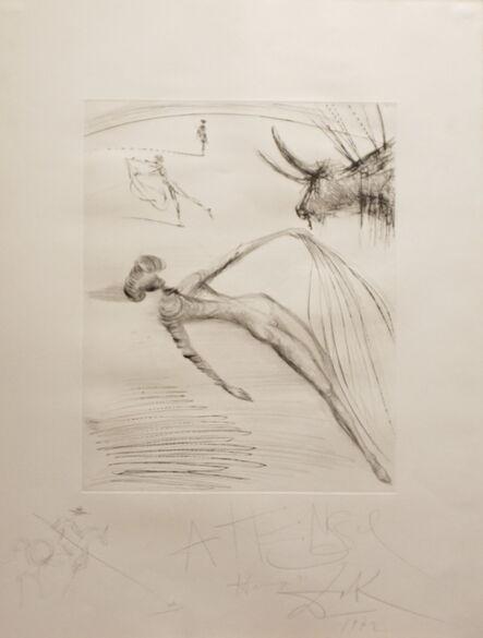 Salvador Dalí, 'La Cogida y la Muerte with Original Drawing', 1972