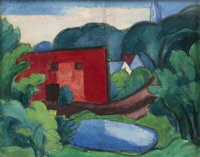 Oscar Bluemner, 'South Braintree, Massachusetts', 1932