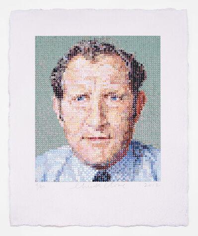 Chuck Close, 'Nat/Felt Hand Stamp', 2012