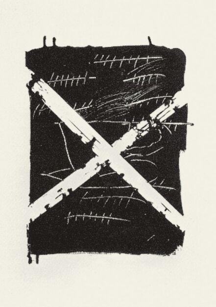 Antoni Tàpies, 'LLambrec 8', 1975