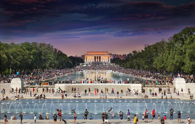 Stephen Wilkes, 'Commitment March, Washington D.C.,  Day to Night', 2020