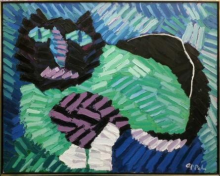 Karel Appel, 'THE GREEN CAT', 1978