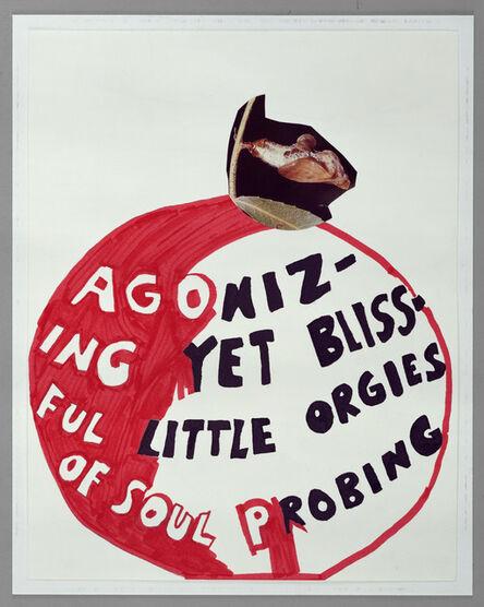 Frances Stark, 'Agonizing yet Blissful', 2001