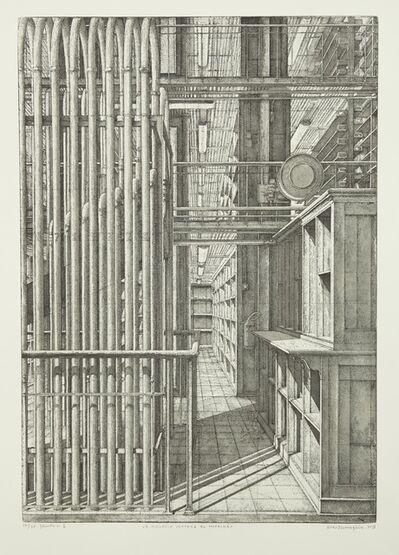 Erik Desmazières, 'Le Grand orgue pneumatique, from Le Magasin central des imprimés', 2013
