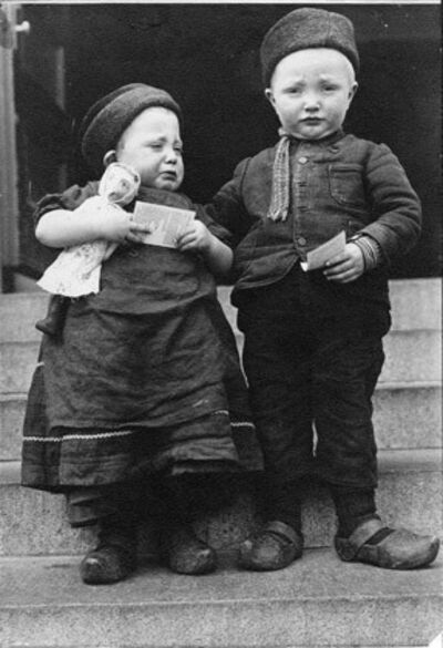 Augustus F. Sherman, 'Dutch Siblings'