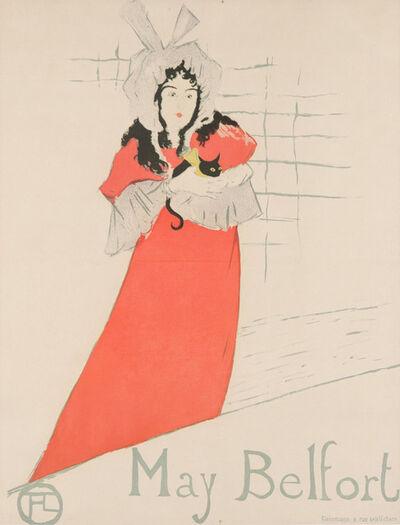 Henri de Toulouse-Lautrec, 'MAY BELFORT', 1895