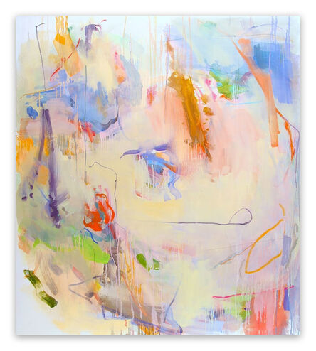 Gina Werfel, 'Faded Light  (Abstract Expressionism painting)', 2008