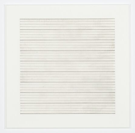 Agnes Martin, 'Untitled (6)', 1991