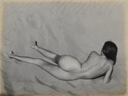 Edward Weston, 'Nude on Sand, Oceano', 1936