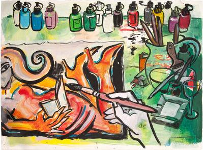 Elvira Bach, 'Die Farben von Berlin', 2007
