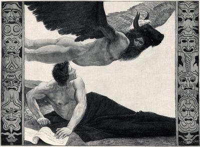 Sascha Schneider, 'Eine Vision', 1894-1895