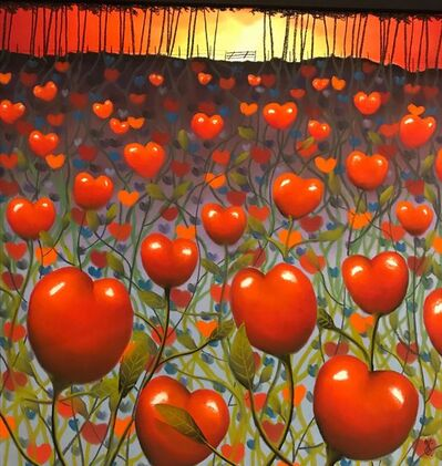MacKenzie Thorpe, 'Through the Gate of Love ', 2013
