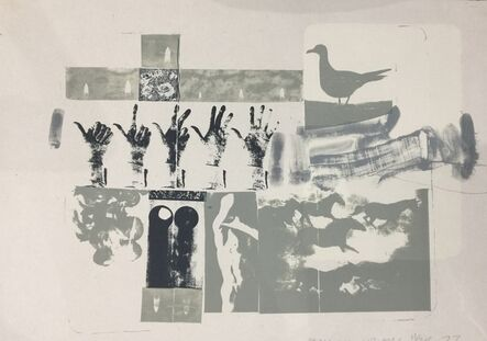 Robert Rauschenberg, 'Romances (Prophecy)', 1977