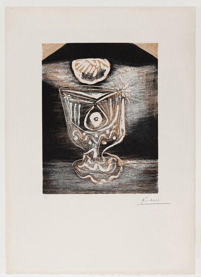 Pablo Picasso, 'Le Verre sous la Lampe', 1962