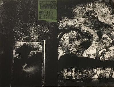 Mohammed Omar Khalil, 'Tombstone Blues', 1986