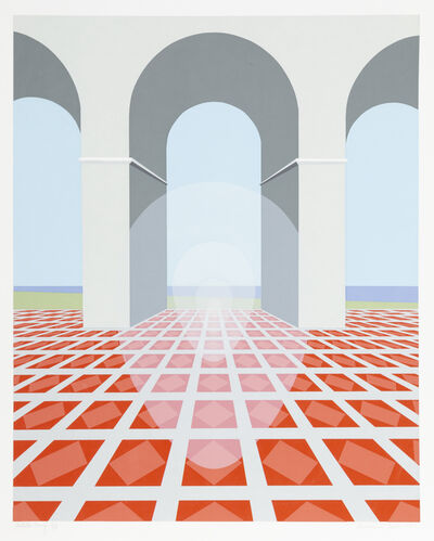 Clarence Holbrook Carter, 'Arches', 1979