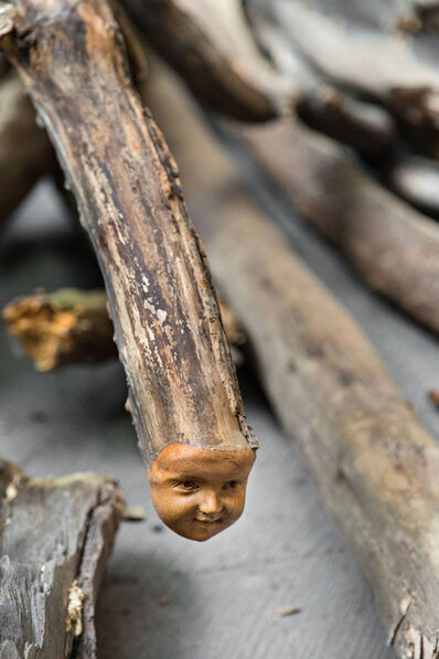 Danh Vō, 'Log Dog (detail)', 2013