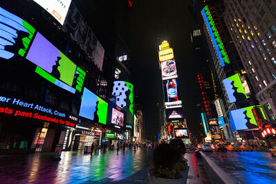 Rafaël Rozendaal, 'Much Better Than This (Shown at Times Square, February 2015)', 2015