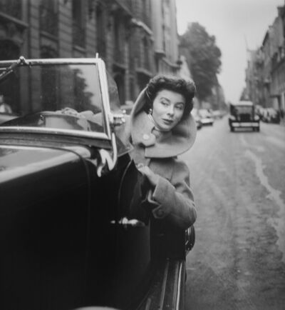 Georges Dambier, 'Untitled (Woman Peeping Out Side of Car)', ca. 1950s