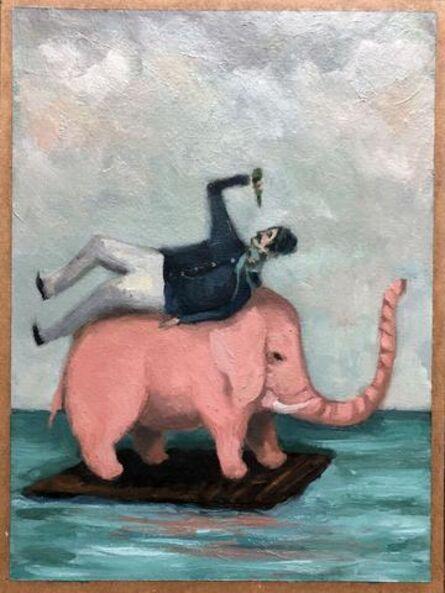 Mike Stilkey, 'Pink Elephant'