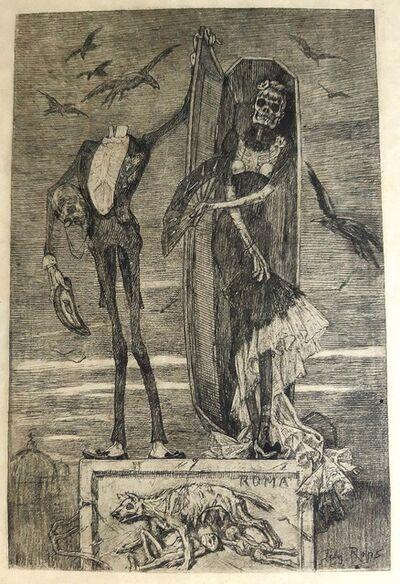 Félicien Rops, 'Le Vice Supreme', 1883