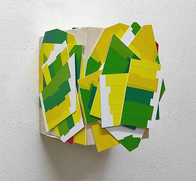 Arancha Goyeneche, 'Buttercup, sunflower and poppy', 2021