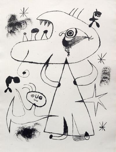 Joan Miró, 'Barcelona: XXV', 1939