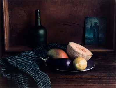 Evelyn Hofer, 'Still Life (2) Oaxaca Vase with Aubergine', 1996