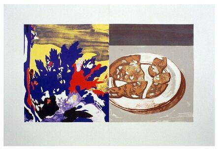 David Salle, 'Salami with Landscape', 2002