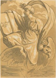 John Skippe after Parmigianino, 'Saint John the Evangelist', 1782