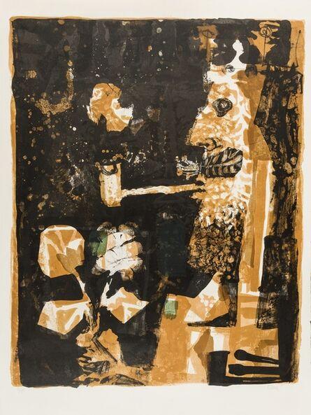 Antoni Clavé, 'Roi au fond noir (Passeron 52)', 1957