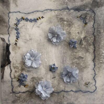Sonya Kelliher-Combs, 'Powder Blue Bow', 2021
