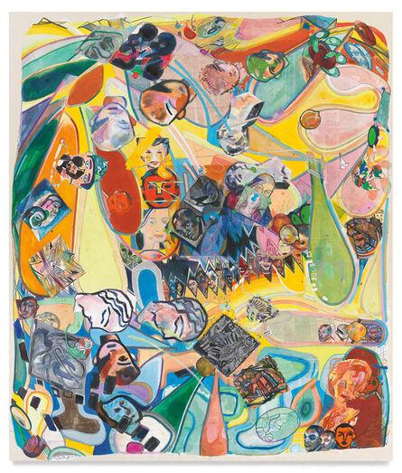 Franklin Evans, 'decenteringfacespace', 2021