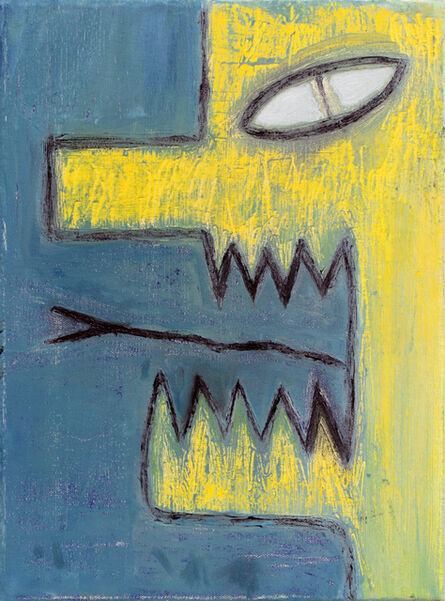 Alex Gene Morrison, 'Yellow Head (Black Tongue)', 2018
