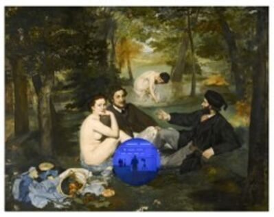 Jeff Koons, 'Gazing Ball (Manet Luncheon on the Grass)', 2019