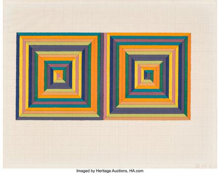 Frank Stella, 'Fortín de las Flores (First Version)', 1967