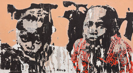 Armand Boua, 'Les Winzins de Djamtala 1', 2017