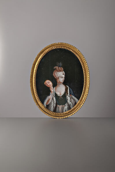 Unknown Chinese, 'European Lady', China, 18th Century, c. 1775