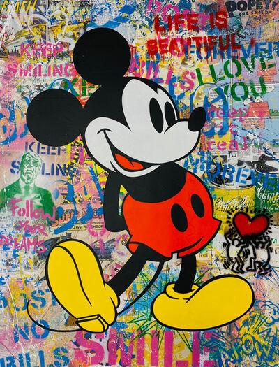 Mr. Brainwash, 'Mickey', 2020