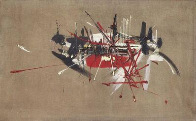 Georges Mathieu, 'Gosselin, Évêque de Paris (887)', 1960