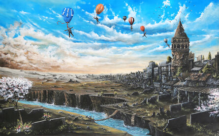 serdar akkılıç, 'Istanbul is under my wings', 2015
