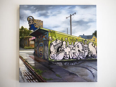 """Jessica Hess, '""""Welcome to West Oakland""""', 2014"""