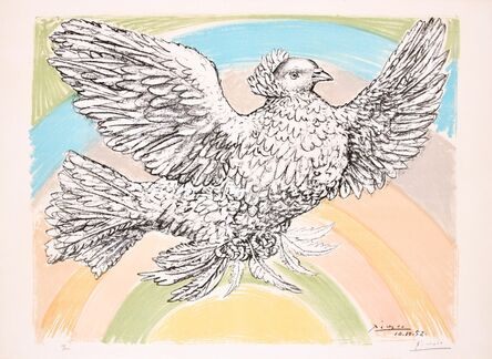 Pablo Picasso, ' Le Colombe Volant', 1952