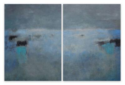 Janise Yntema, 'La Pré de Nuit (Abstract painting)', 2015