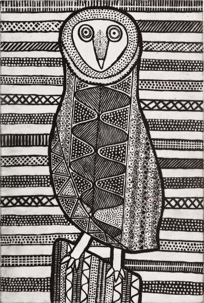 Janice Murray, 'Pinjoma (Barn Owl)', 2017