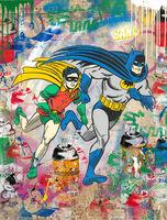 Mr. Brainwash, 'Batman & Robin', 2020