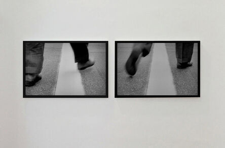Mounir Fatmi, 'Crossing the Line', 2015